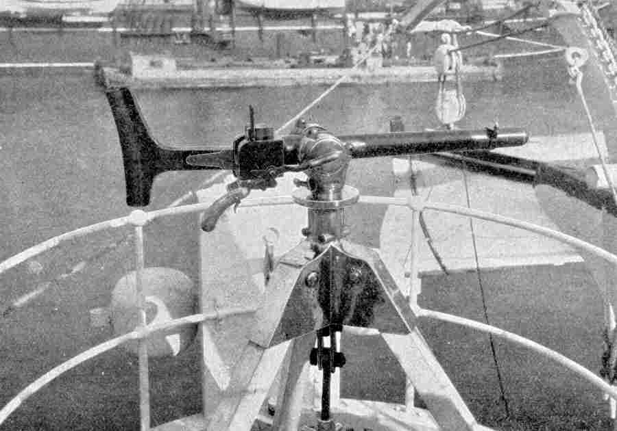 USS Maine - Hotchkiss Rapid-Fire Gun